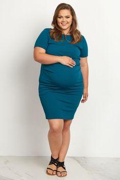 PinkBlush Jade Maternity Sheath Dress - Plus Plus Size Maternity Dresses, Fitted Maternity Dress, Pink Blush Maternity, Maternity Wear, Maternity Fashion, Pregnancy Fashion, Stylish Maternity, Pregnancy Outfits, Maternity Style