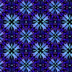 In the Beginning Return to Atlantis Dark Blue Moasic