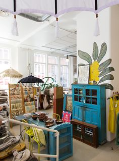 Moko Market - an amazing concept store in an old labour district in Helsinki. Cool Indian furniture and interior design items. A must!