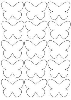 Crafts For Kid Inspiration For Children Of All Ages - Lumax Homes Butterfly Template, Butterfly Crafts, Flower Template, Crown Template, Butterfly Mobile, Heart Template, Butterfly Wall Art, Diy And Crafts, Crafts For Kids