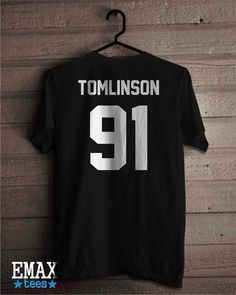 Louis Tomlinson Shirt Tomlinson 91 T-shirt One Direction T