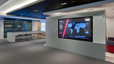 COMM-IT India provides digital signage for corporate communication and It is An efficient platform for improved corporate communication, Digital Signage provides a system for connecting and controlling all contact points throughout the establishment. Digital Wall, Digital Signage, Adobe, Pharmacy Design, Smart Office, Corporate Communication, Ceiling Installation, Study Areas, Workplace Design