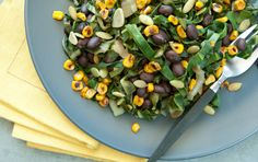 Corn with Chard and Beans