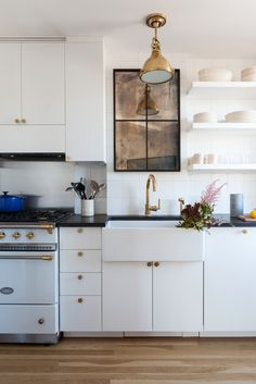 Kitchen of the Week: A Small Kitchen with Big Personality for Comedian Seth Meyers: Remodelista