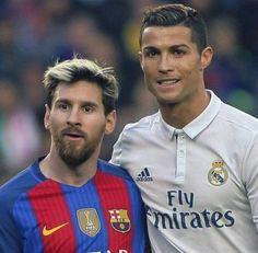 #Messi #Cristiano