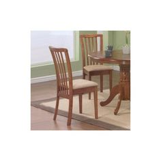 Farista Side Chair in Cherry [Set of 2] - http://www.furniturendecor.com/farista-side-chair-in-cherry-set-of-2/ - Categories:Dining Chairs, Dining Room Furniture, Furniture, Home and Kitchen
