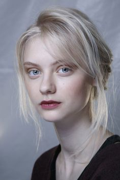 Nastya Kusakina. Beautiful white blonde. I'm starting to miss it.