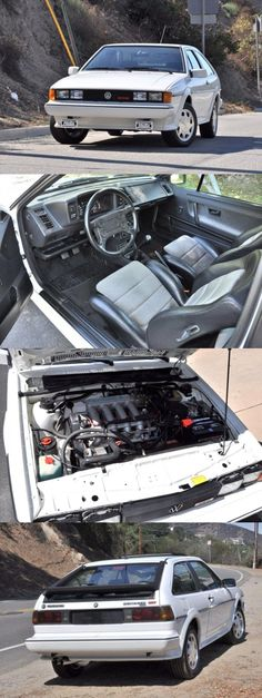 1988 Volkswagen Scirocco 16V - the gas pedal was the soul of this car - it grabbed the curves!