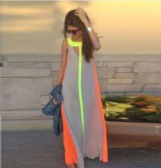 4 vestidos verão mulheres vestido para festa de 2015 vestido grande casual vestidos em Vestidos de Roupas e Acessórios no AliExpress.com | Alibaba Group