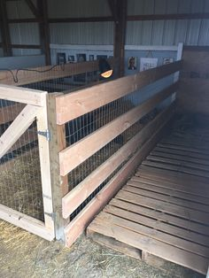 Goat Fence and Barn Stalls Makeover and build of stall for baby goats and baby lambs; how to makeover a barn; how to build a stall; how to add an extra stall to your barn.  #snowfallranch Safe barn light - we love the Prima Heat Lamp, they are the best!  Expensive but worth it.