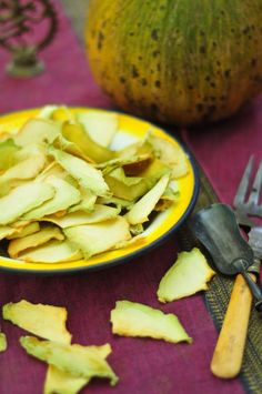 melon chips & healthy snacks
