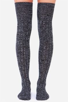 Over The Knee Socks for cold days - Find 150+ Top Online Shoe Stores via http://AmericasMall.com/categories/shoes.html