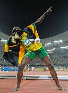 The greatest sprinter of all time, the one and only Usain Bolt!