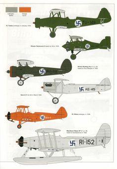 The Suomen Ilmavoimat (Finnish Air Force) Ww2 Aircraft, Fighter Aircraft, Military Aircraft, Finnish Civil War, Finnish Air Force, Imperial Army, Flying Boat, Luftwaffe, Warfare