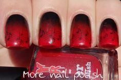 Musical nails for a birthday boy ~ More Nail Polish