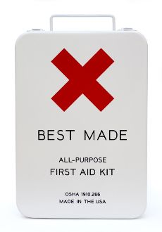 BEST MADE First Aid Kit. love the packaging