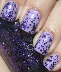 Orly Flash Glam FX Collection: Can't be Tamed (from The PolishAholic:)