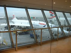 Concorde Room at JFK. Been there, done that.