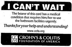 I Can't Wait: Restroom Access Victory For Crohn's, Colitis Sufferers | CommonHealth