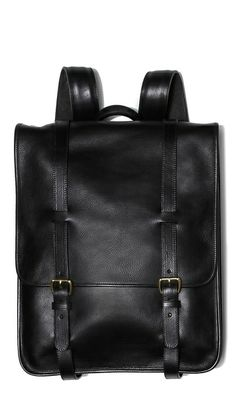 """Michael: """"This Lotuff leather backpack would be perfect for work or just for everyday. It's made in Connecticut and will only get better with age."""" Lotuff Leather backpack, $1,195, at EastDane."""