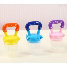 1PC Baby Kids Milk Fruit Bite Feeding Safe Pacifier Tool Infant Teether Nipple AU Oral Care Fun Toys
