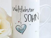 """""""Weltliebster SOHN"""" - Tasse"""
