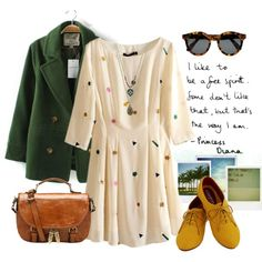 """Mustard Color"" by beautifulnoice on Polyvore"