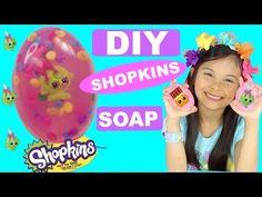 DIY SHOPKINS SOAP - EASY MELT & POUR SOAP TUTORIAL | TIANA HEARTS - YouTube