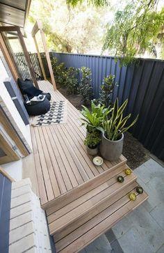 Deck Colors, Black Fence, Secret Rooms, House Rules, Beautiful Interiors, Patio, Interior Design, Fences, Outdoor Decor