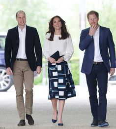 The Duke and Duchess of Cambridge and Prince Harry attend the launch of Heads Together Campaign | May 16, 2016