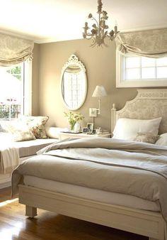 Soft, romantic bedroom design from Better Homes & Gardens