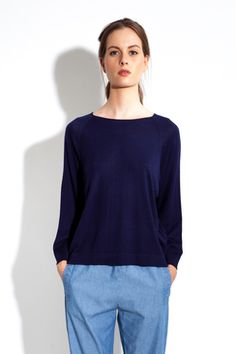YVONNE – FINE KNITTED TOP