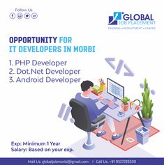 Email Id, Android Developer, We Are Hiring, Job S, 1 Year, Microsoft, Opportunity, Interview, Training