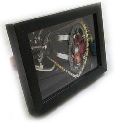 Quadro Decorativo 3d Corrente 18x24cm