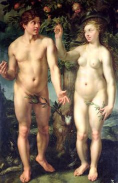 Adam And Eve Hendrik Golizius