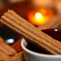 Home made churro inspiration for an autumn treat
