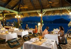 Seafood  & Seabreeze featuring fresh seafood and island specialties right on the beach. | Sandals Resorts | St. Lucia