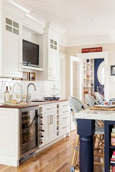 Cape Cod Cottage with Coastal Interiors