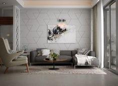 Entzuckend Ideen Akzent Wände Wohnzimmer