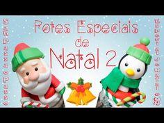 DIY - PAPAI NOEL Decorativo em Biscuit - Especial 20k de Inscritos - Sah Passa o Passo - YouTube