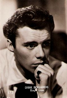 Dirk Bogarde΄ Distinguished British actor and novelist Sir Dirk Bogarde (1921-1999) was Britain's number one box office draw of the 1950's, gaining the title of 'The Matinee Idol of the Odeon'.