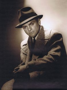 """GEORGE HURRELL, GORGEOUS JAMES CAGNEY PHOTO, ONE OF A KIND, FROM GEORGE'S PERSONAL COLLECTION, approx. 10""""x13"""", each image is """"dodged and burned"""" making it ..."""