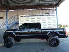 Check out this Big boy Diesel! 2001 Ford Super Duty F-250 Lariat 4x4 Crew Cab 7.3 Powerstroke Lifted! www.HammerheadTrucks.com 561-444-3190
