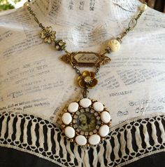 Loves Source Vintage Assemblage Necklace by HollywoodHillbilly