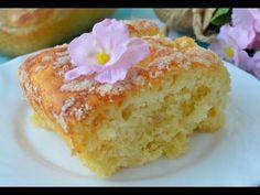 простой дрожжевой пирог, сахарный! - YouTube
