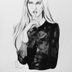 Fashion illustration // Victoria Skinner