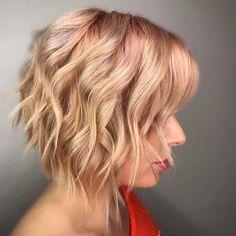 """1,984 kedvelés, 24 hozzászólás – Arizona Hairstylist (@emilyandersonstyling) Instagram-hozzászólása: """"🍑 Peachy Makeover 🍑 Who wants formulas for this hair transformation? Straight version on previous…"""""""