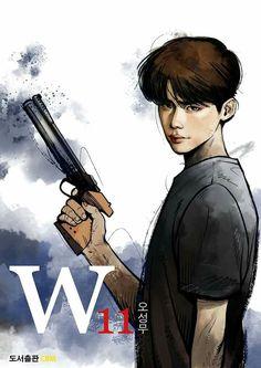 W comic-cover