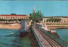 A reconstrução da velha ponte da Ilha de Moçambique, em frente ao Palácio | Cova do Urso