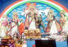 Durga, Painting, Art, Art Background, Painting Art, Paintings, Kunst, Drawings, Art Education